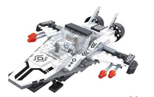 Brictek Outer Space 126 Piece Space Defender