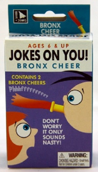 Jokes On You: BRONX CHEER Prank - Off The Wall Toys and Gifts