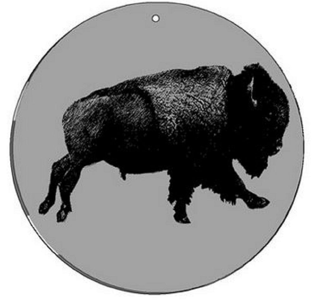 Buffalo - Medium 5.5 Inch CineSpinner - Animated Suncatcher - Off The Wall Toys and Gifts