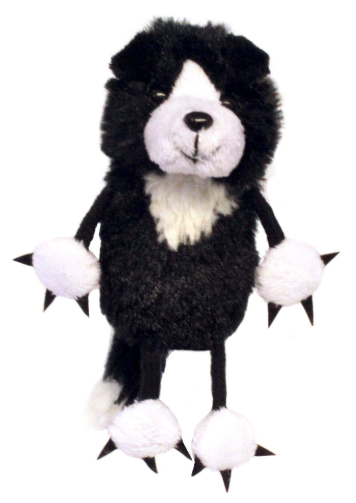 Black & White Cat Finger Puppet by The Puppet Company