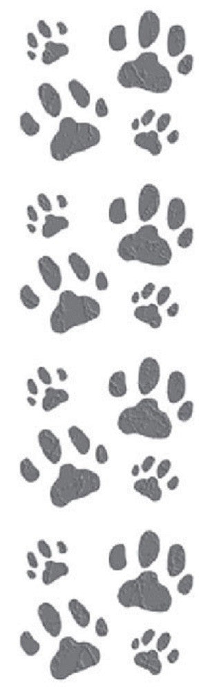 Mrs Grossman's Stickers - Cat Paw Prints - Off The Wall Toys and Gifts