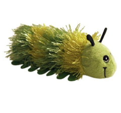 Green Caterpillar Finger Puppet by The Puppet Company