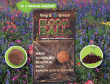 Fling & Sprout Bloom Ball; Deploy the Wildflowers Seed Bomb - Off The Wall Toys and Gifts