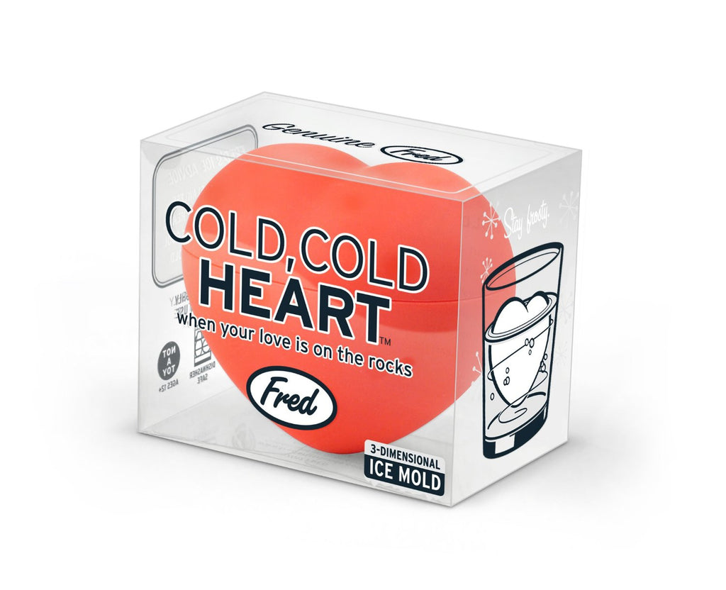 Cold, Cold Heart -  3D Heart Shaped Ice Mold