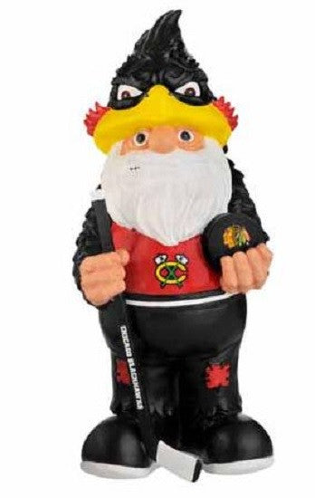 Chicago Blackhawks Thematic Team Garden Gnome