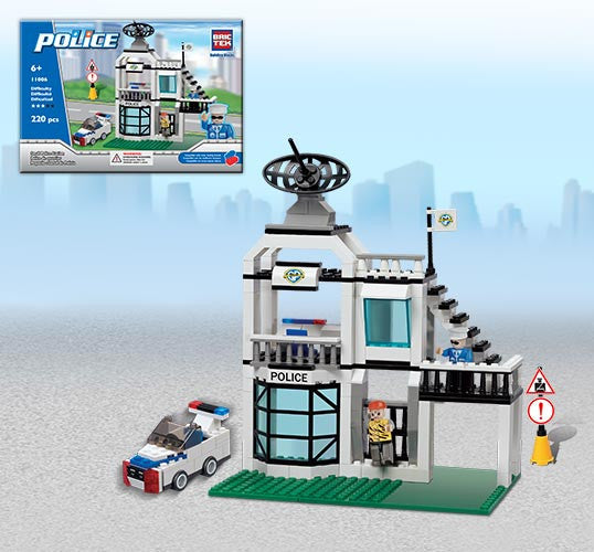 Brictek City Super Century Design Police 220 Pieces