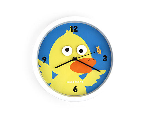 Googly Eyes Duck Wall Clock by Kikkerland
