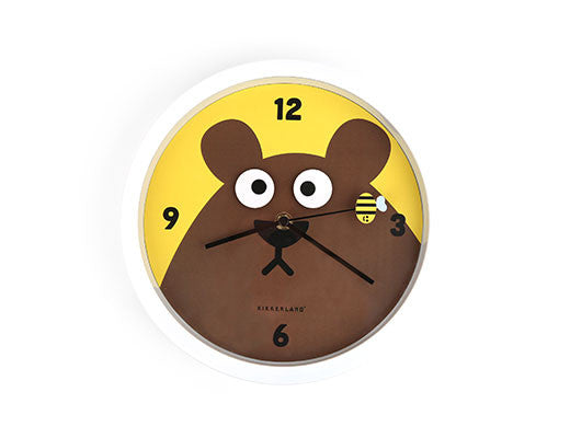 Googly Eyes Bear Wall Clock by Kikkerland