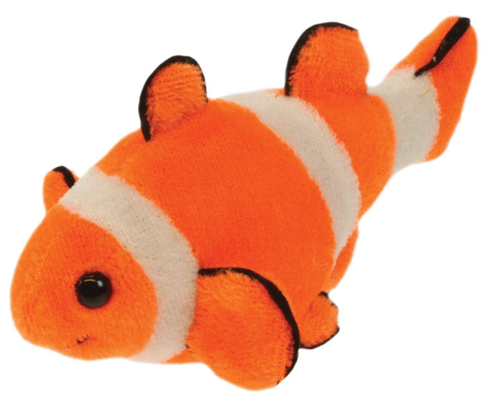 Clown Fish Finger Puppet 6 Inches Long - Off The Wall Toys and Gifts