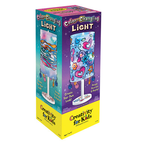 Color Changing Light Kit - Kids Design and Decorate a Lamp