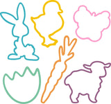 Crazy Bunny GLOW IN THE DARK Rubber Bands 24pk - Off The Wall Toys and Gifts