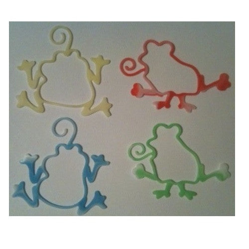 Crazy Frogs Glow-in-the-Dark and Tie-Dye Rubber Band Bracelets 16pk - Off The Wall Toys and Gifts