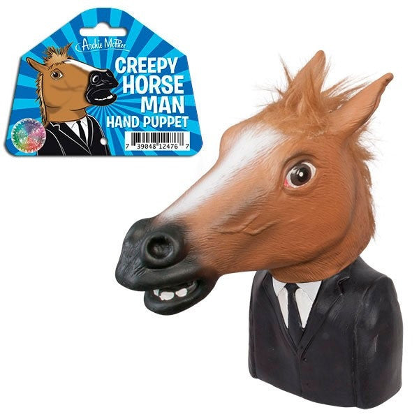 Creepy Horse Man Puppet by Accoutrements
