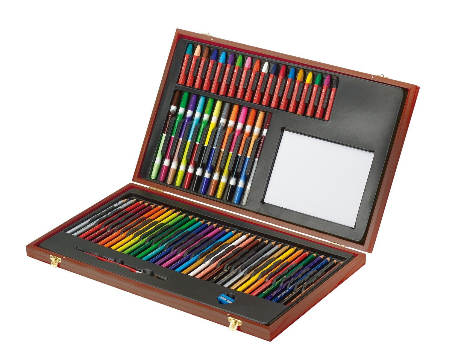 Deluxe Young Artist Essentials Art Set In Wooden Case by Faber-Castell - Off The Wall Toys and Gifts