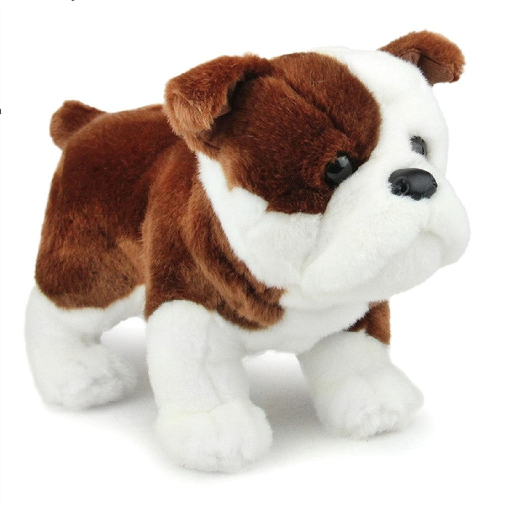 plush stuffed animals  off the wall toys and gifts -  hardy the bulldog  plush stuffed animal