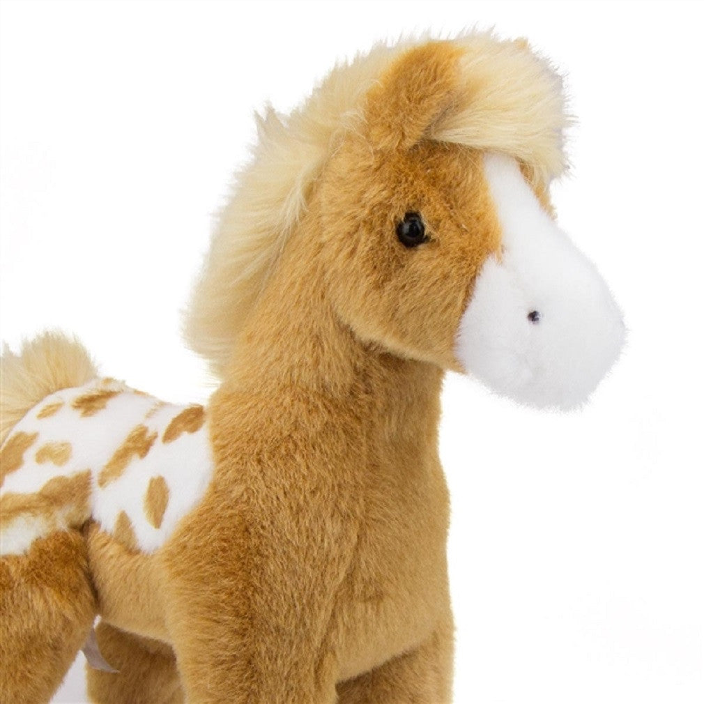 Freckles the Golden Appaloosa Foal - Plush Stuffed Animal - Off The Wall Toys and Gifts