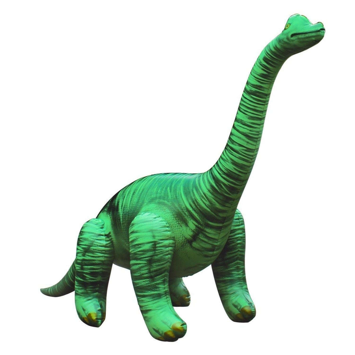 Inflatable Brachiosaurus Dinosaur Model - 4 Foot Long Dino Figure - Off The Wall Toys and Gifts