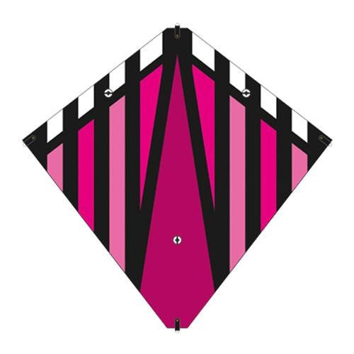 30 Inch X-Kites Magenta Stunt Diamond Kite w/Double Handles & Line - Off The Wall Toys and Gifts