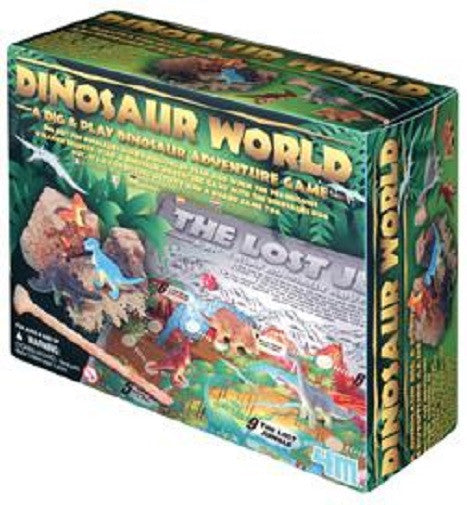 Dig-And-Play Dinosaur World Kit Game Toy by 4M - Off The Wall Toys and Gifts