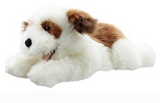 Brown & White Dog 20 Inch Playful Puppy Plush Puppet by The Puppet Company