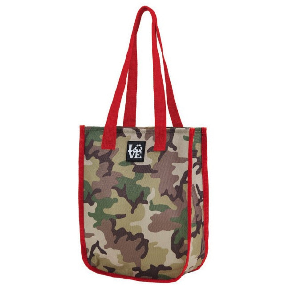Dottie Go Go Tote Bag - Camo Wamo Pattern, by Love Bags - Off The Wall Toys and Gifts