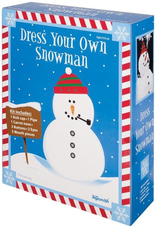 Dress Your Own Snowman Kit - Off The Wall Toys and Gifts