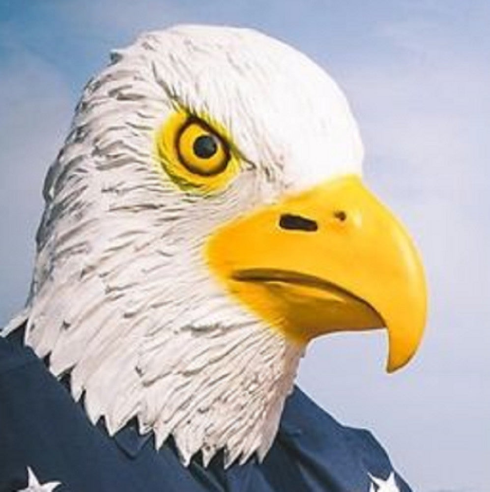 Latex Bald Eagle  Mask - by Accoutrements