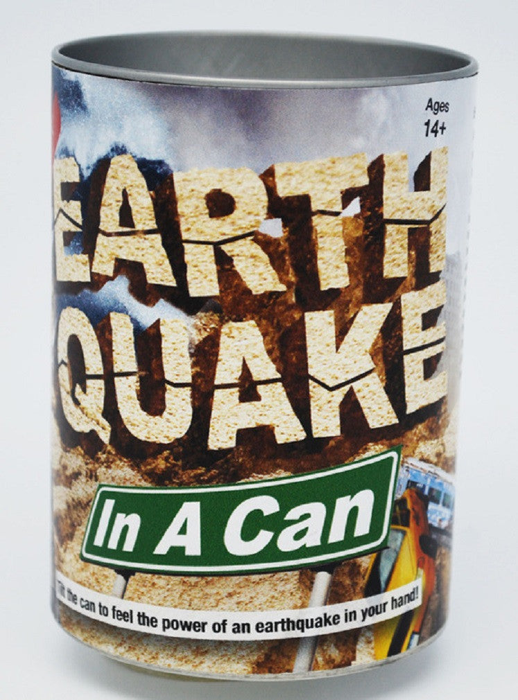 EarthQuake In A Can - Battery Operated Temblor