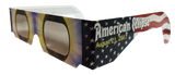American Flag Solar Eclipse CE Certified Glasses Pack of 3