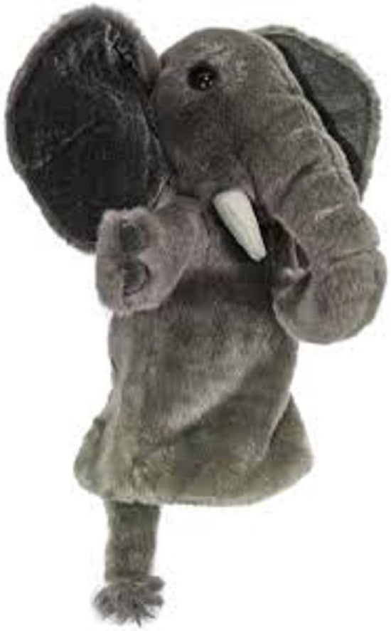 Long Sleeved - 15 Inch Glove Puppet - ELEPHANT - Collectible Hand Puppet Character - Off The Wall Toys and Gifts