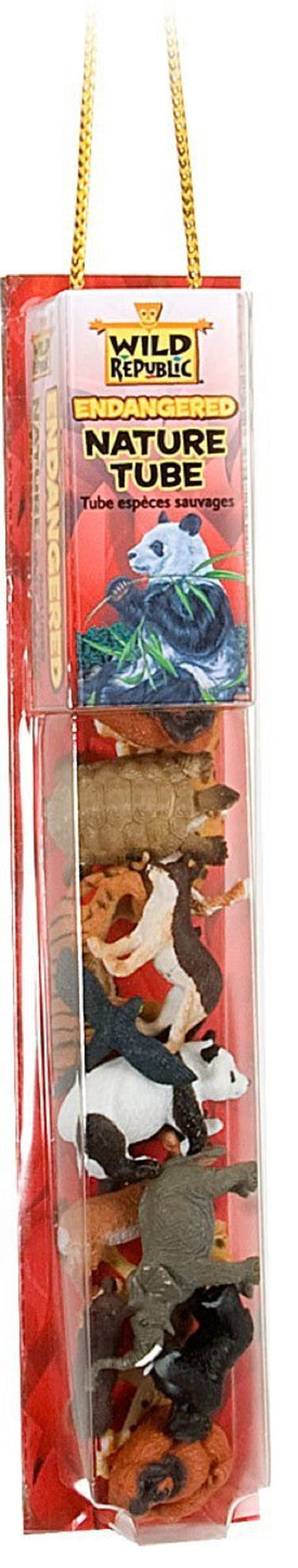 Endangered Animal Nature Tube with Play Mat by Wild Republic - Off The Wall Toys and Gifts