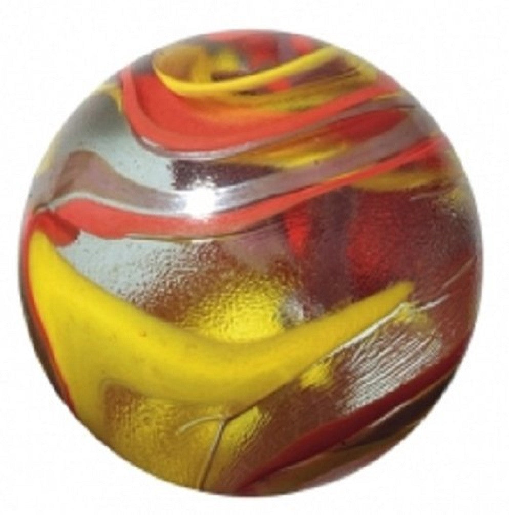 "Enormous Glass ""Fiesta"" Marble - 50mm - by House of Marbles"
