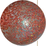 Enormous Glass PINK STARDUST Marble -  50mm by House of Marbles - Off The Wall Toys and Gifts