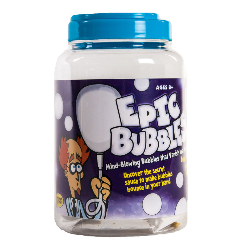 Epic Bubbles Science Kit Make Mind Blowing Bubbles