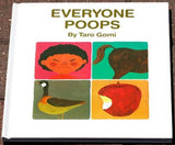 Kane Miller Hardcover Book: EVERYONE POOPS Ages 1.5-4 Yrs