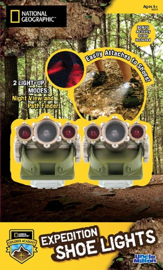 Expedition Shoe Lights - Dual Mode Attachable Lights - Pack of 2 - Off The Wall Toys and Gifts