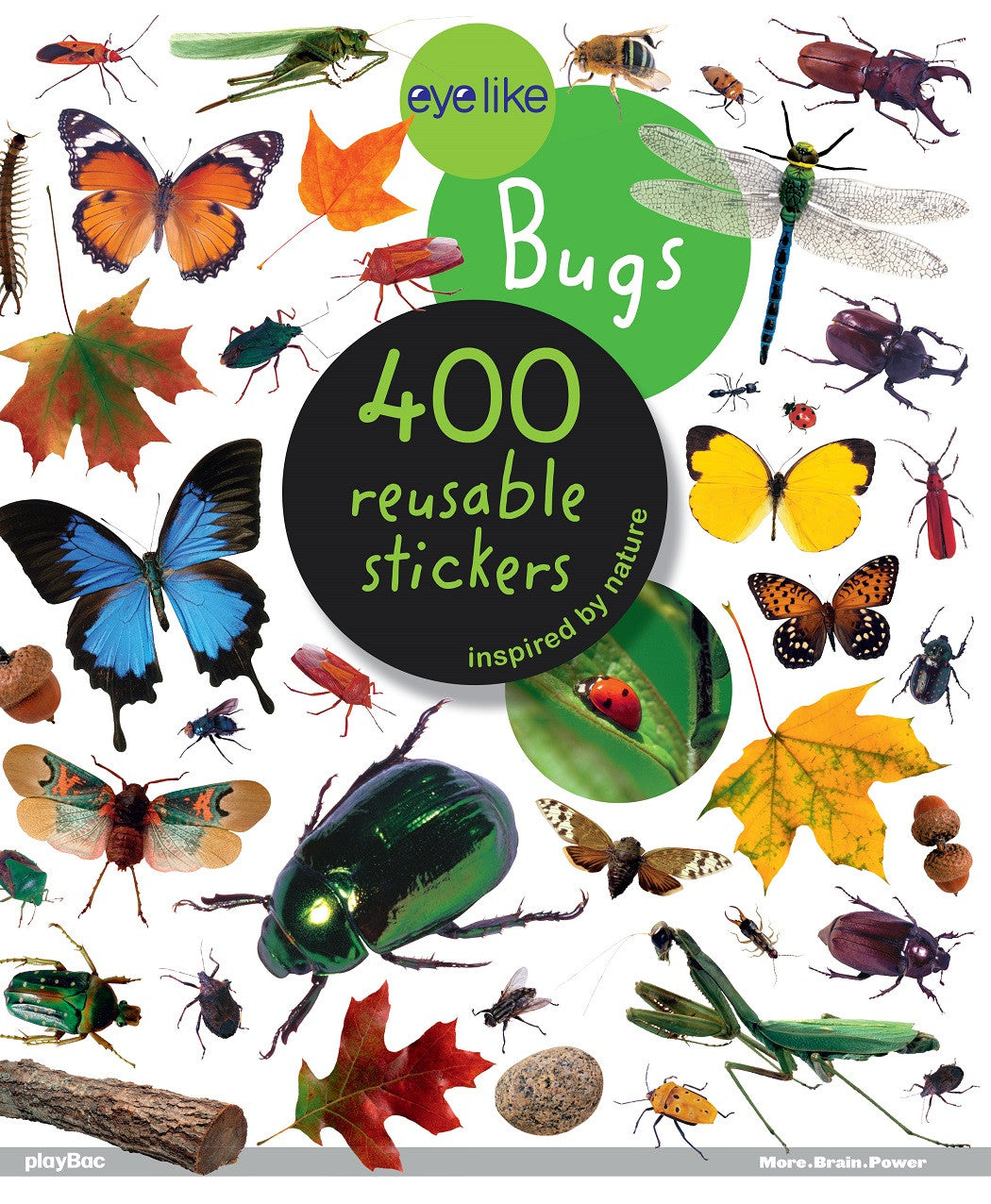 Eyelike Sticker Book: Bugs of the World w/400 Reusable Stickers - Off The Wall Toys and Gifts