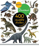 Eyelike Sticker Book: Dinosaurs w/400 Reusable Stickers - Off The Wall Toys and Gifts