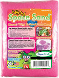 Neon Pink Space Sand: 1lb of Hydrophobic Sand - Off The Wall Toys and Gifts