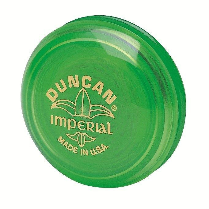 Genuine Duncan Imperial Yo-Yo Classic Toy - Green - Off The Wall Toys and Gifts