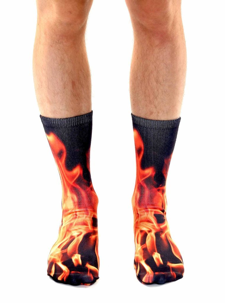 Flame Crew Socks OSFM by Living Royal