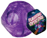 Flashing Optic Orb w Multi Colored Light Show 3 Inch Ball Colors Vary - Off The Wall Toys and Gifts