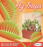 Fly Trap Bog Garden Plant Cube - Grow the Carnivorous Venus Fly Trap - Off The Wall Toys and Gifts