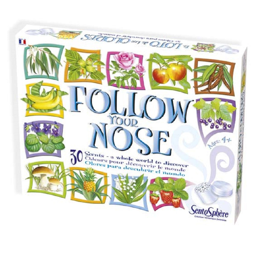 Follow Your Nose - 30 Scents - An Aromatic Game of Odors - Off The Wall Toys and Gifts