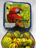 Parrot Game Net Set 25 Piece Glass Mega Marbles - Off The Wall Toys and Gifts