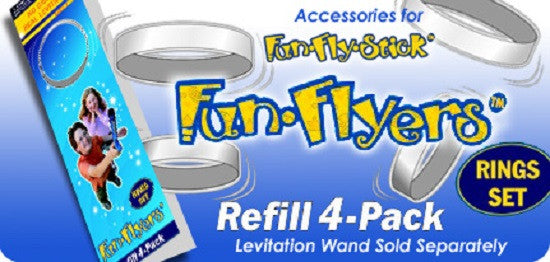 FunFlyStick REFILL Rings Set for Magic Levitation Wand - Off The Wall Toys and Gifts