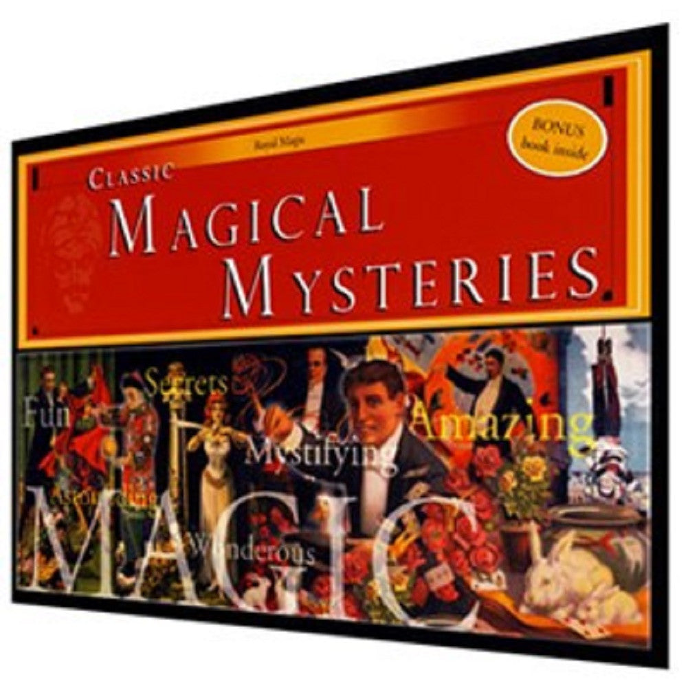 Classic Magical Mysteries - Introduction to Magic Kit - Off The Wall Toys and Gifts