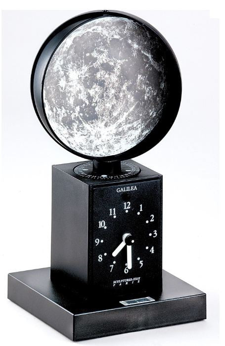 Galilea Astronomy Collection Moon Phase Clock - Off The Wall Toys and Gifts