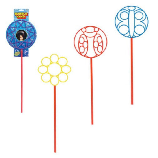 Giant Bubble Wands; Toy Makes Millions of Bubbles; Pack of 5 - Off The Wall Toys and Gifts