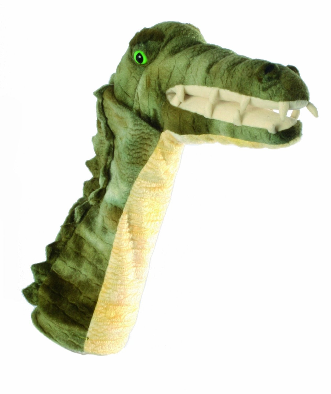 Long Sleeved - 15 Inch Glove Puppet - CROCODILE - Collectible Hand Puppet Character - Off The Wall Toys and Gifts